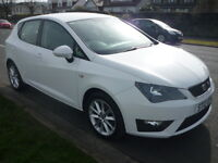 SEAT Ibiza 1.2 TSI FR 105PS **Full Service History** (white) 2012