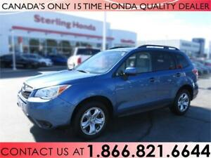 2015 Subaru Forester 2.5i AWD | 1 OWNER