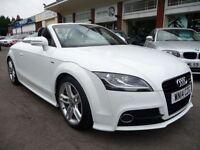 AUDI TT 1.8 TFSI S LINE 2d 158 BHP (white) 2014