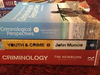 Criminology bundle - criminological perspectives, youth & crime and Criminology. (Social Sciences)