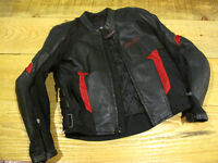 Jacket leather  shift