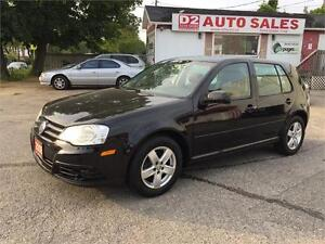 2008 VW City Golf Automatic/Gas Saver/All Power Option/Certified
