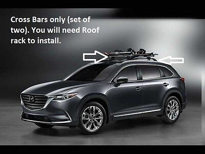 2016-2020 Mazda CX-9 Cross Bars (roof Rack Required not included)   00008LN11