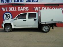 2008 Holden Colorado RC LX WORK BODY White 5 Speed Manual Dual Cab Welshpool Canning Area Preview