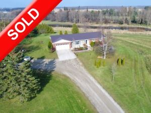 SOLD: Private 29 Acres Riverview & Small Hobby Farm Wroxeter