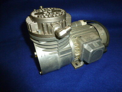 Used Runs Knf Neuberger Pu461-n035-4.91 Air Compressor Vacuum Pump 115 Volts