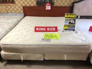 THE BEST BUY IN TOWN: QUEEN & KING SIZE MATTRESS & BOX SPRING