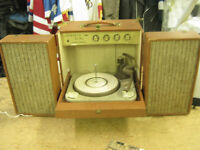 Admiral Stereophonic Sing Along Suitcase Record Player