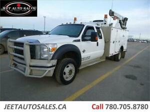 2013 Ford Super Duty F-550 XLT Service Truck with Vmac & Crane