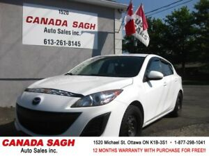 2011 Mazda3, AUTO/AC/PWR/ MINT ! 12M.WRTY+SAFETY $6990