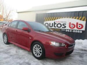 2011 Mitsubishi Lancer ( BLUETOOTH - MAGS - SIEGES CHAUFFANTS )