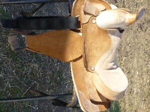 12 in ROUGH OUT PONY SADDLE