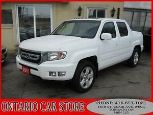 2011 Honda Ridgeline EX-L 4WD LEATHER SUNROOF