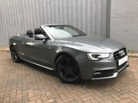 Audi A5 2.0 S Line Cabriolet, Absolutely Stunning Example in Mint Condition Throughout, Full Leather
