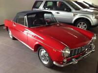 Fiat 1500 CABRIO SPIDER 1964 FULLY RESTORED RED 71000 KM = 45000 MILES LHD