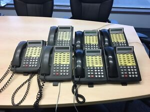 AT&T Lucent Partner 18D Phone System w/ 7 phones