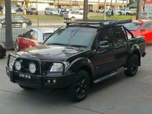 2011 Nissan Navara D40 MY11 ST-X 550 Black Sports Automatic Utility