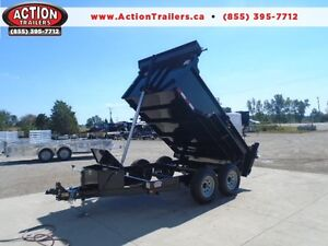 PERFECT SIZE DUMP TRAILER 6 X 10 5 TON -FREE UPGRADES SAVE $300