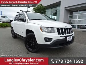 2012 Jeep Compass Sport/North W/ 4X4, SUNROOF & U-CONNECT BLU...