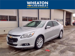 2016 Chevrolet Malibu LTZ, Leather, Sunroof