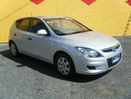 2011 Hyundai i30 FD MY11 SLX Silver 4 Speed Automatic Hatchback Winnellie Darwin City Preview