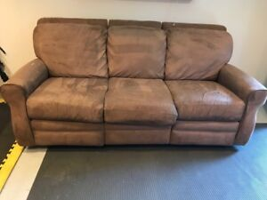 Suede Sofa for sale (Kits)
