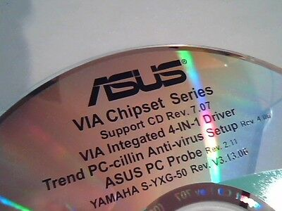 Driver Support Cd Asus Via Chipset Integrated 4 In 1 Pc Cillin Pc Probe M150