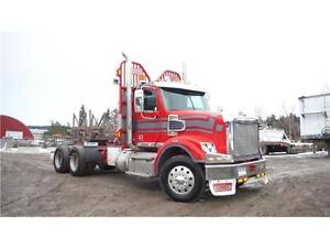James Western Star - 2013 Freightliner Conventional Red/Silver