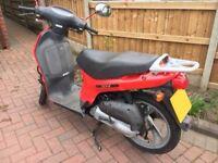HONDA SH50 50cc - Scooter Moped Ped - Mot Expired - V5 Logbook/Keys