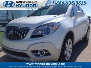 2013 Buick ENCORE Premium AWD Leather Sunroof Heated Seats