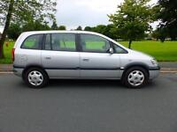 2005 05'reg Vauxhall Zafira 1.6 Design**7 Seater**