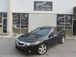 2009 ACURA TSX **REBUILT TITLE**ONLY 155,000KM**LEATHER**SUNROOF