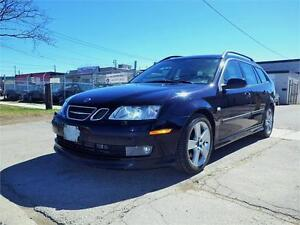 SOLD!!! SAAB 9-3 AERO SPORT COMBI! 6-SPEED MANUAL!CERTIFIED!