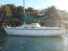 Parcific 707 24ft large volume yacht recent antifouled head room Vaucluse Eastern Suburbs Preview