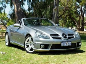 2010 Mercedes-Benz SLK-Class R171 MY10 SLK300 7G-Tronic Grey 7 Speed Sports Automatic Roadster Myaree Melville Area Preview