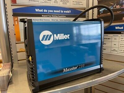 Miller Electric Maxstar 210 Tig Welder 907683 Welding 120-480vac New Free Ship