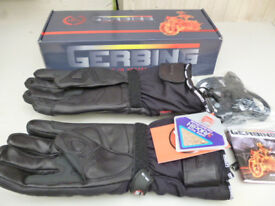 GERBING 12 VOLT HEATED MOTORCYCLE GLOVES XR-12, XL,NEW IN BOX