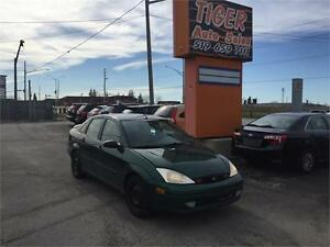 2001 Ford Focus **AUTO***ONLY 138 KMS***AS IS SPECIAL***