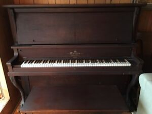 Morris Upright Piano with Matching Bench