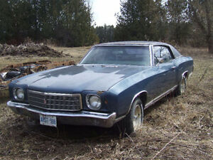 1970 Monte Carlo for sale