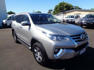 2017 Toyota Fortuner GUN156R GXL Silver 6 Speed Automatic Wagon West Ballina Ballina Area Preview