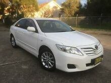 2011 Toyota Camry ACV40R 09 Upgrade Altise White 5 Speed Automatic Sedan Homebush West Strathfield Area Preview