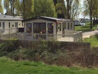 LUXURY 40FT HOLIDAY HOME STATIC CARAVAN FOR SALE INCLUDED 2017 AND 2018 PITCH FEES SEA VIEW