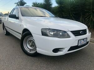 2007 Ford Falcon BF MkII XL (LPG) White 4 Speed Auto Seq Sportshift Utility Hoppers Crossing Wyndham Area Preview