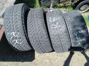 Set of 4 P275/55R20 Motomaster Total Terrain tires