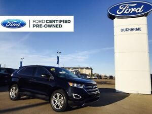 2017 Ford Edge Titanium, AWD, Leather, SYNC3, NAV, Heated Seats