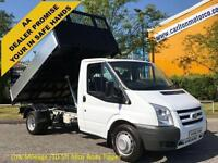 2009 09 Ford Transit 115 T350m Tipper [ New Build 10.5ft Alloy Body ] DRW