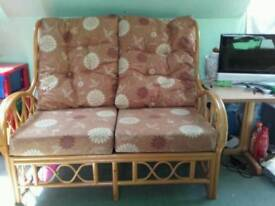 Bamboo 2 seater sofa