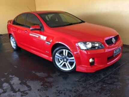2009 Holden Commodore VE MY10 SV6 Red 6 Speed Automatic Sedan South Toowoomba Toowoomba City Preview