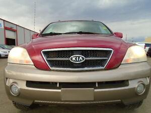 2004 Kia Sorento EX LUXURY SPORT PKG-LEATHER-SUNROOF-NEW TIRES